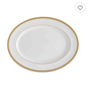 NWT Lismore Lace Gold Platter - Discontinued
